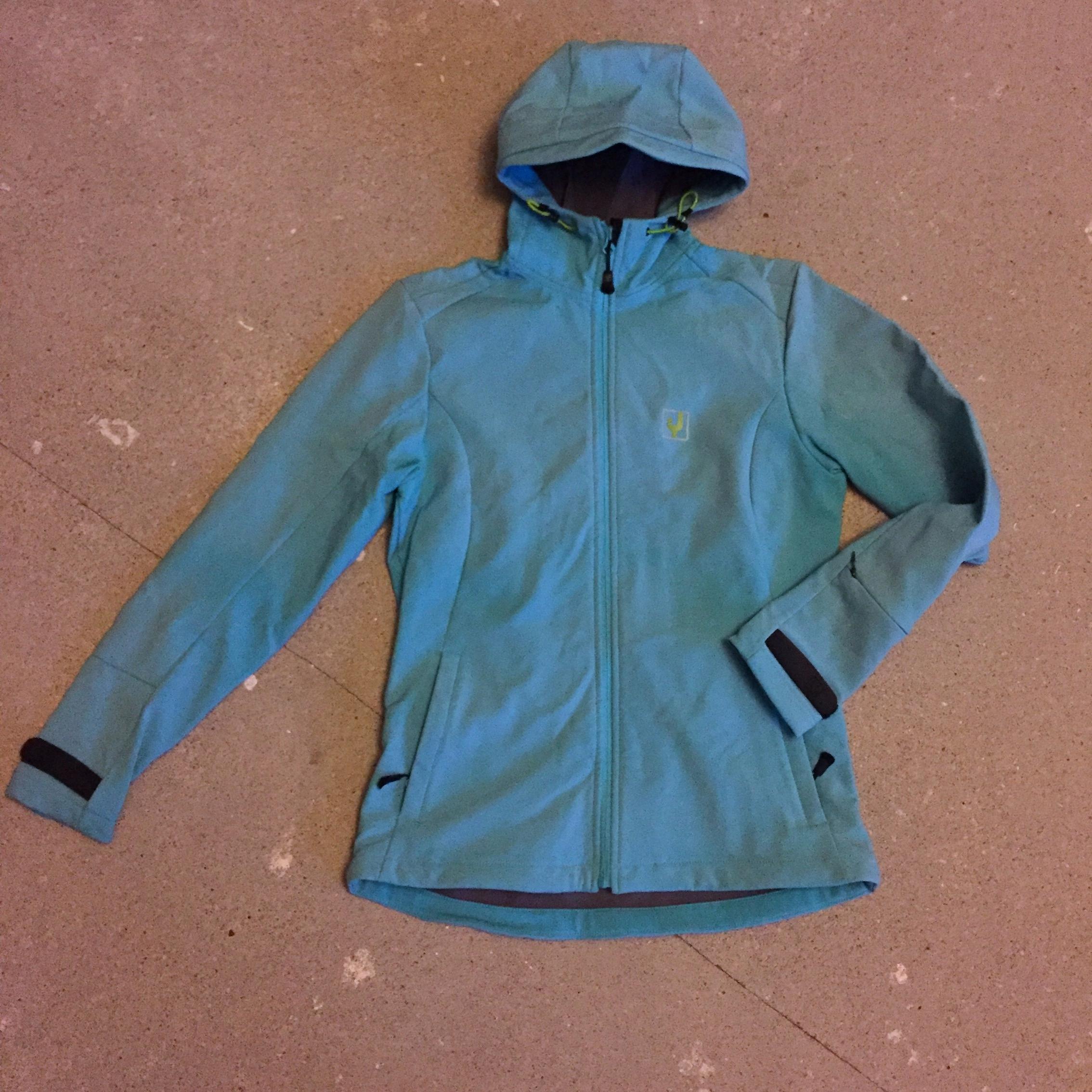 2a8830457b266 Softshell Ayacucho turkusowy na polarze okazja cud - 7719633710 ...