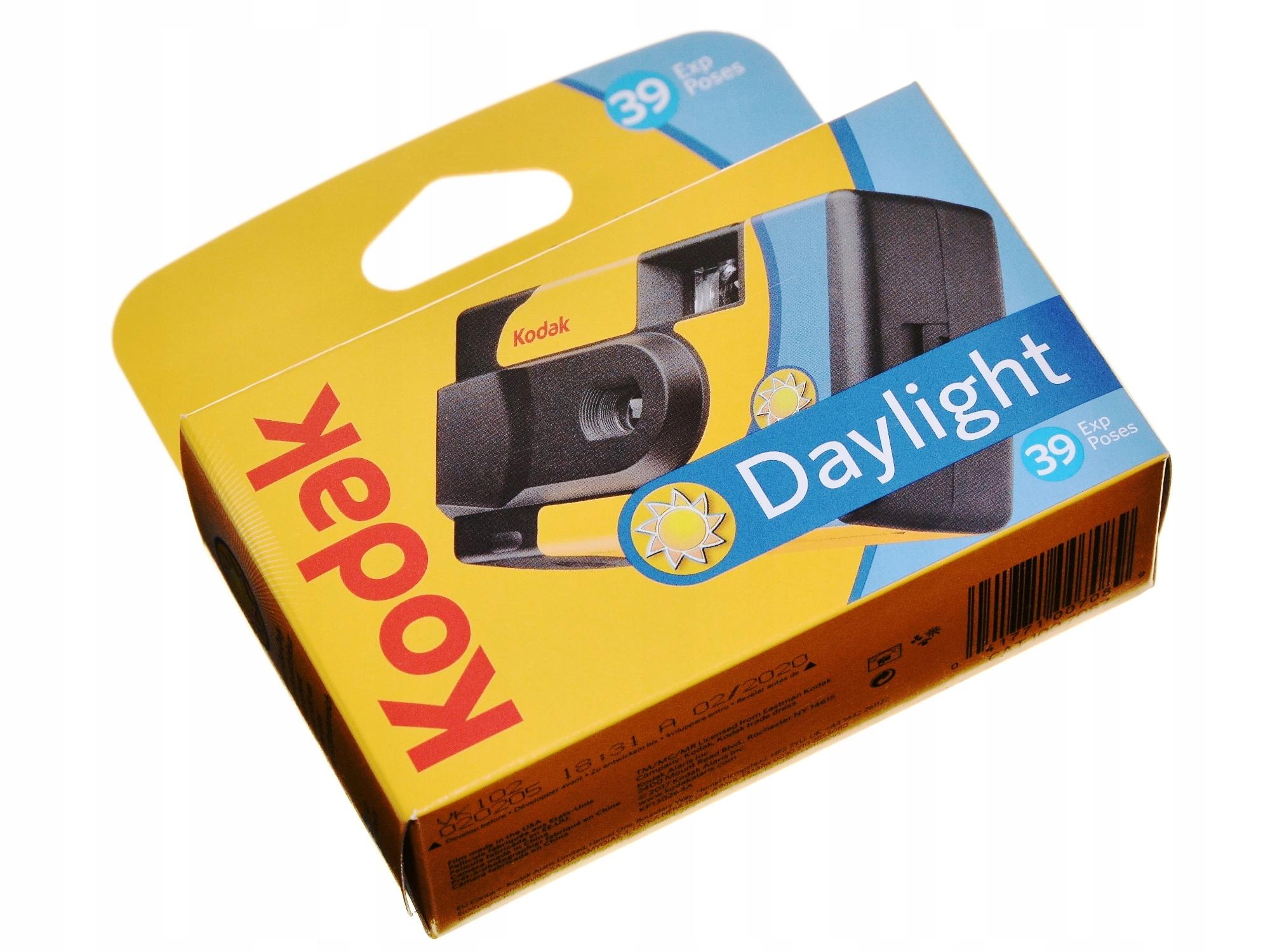 Kodak Daylight SUC aparat jednorazowy 400/39 urlop