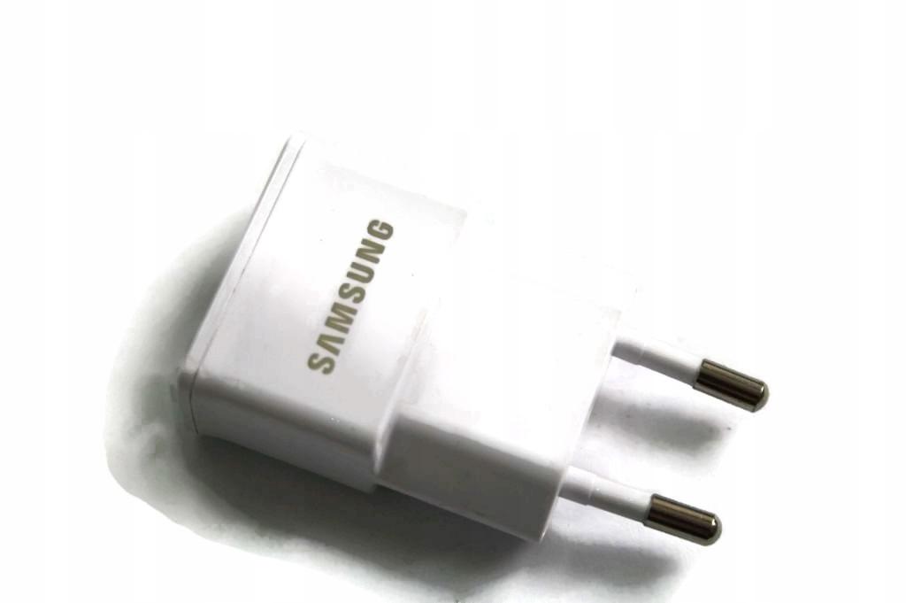 100% Oryg. Ładowarka Wtyczka Samsung 1A