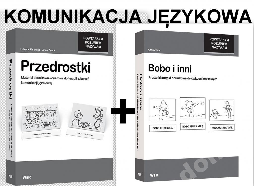 fc74ab3ae6bd1 PRZEDROSTKI+ BOBO I INNI MOWA komunikacja językowa - 5202882664 ...
