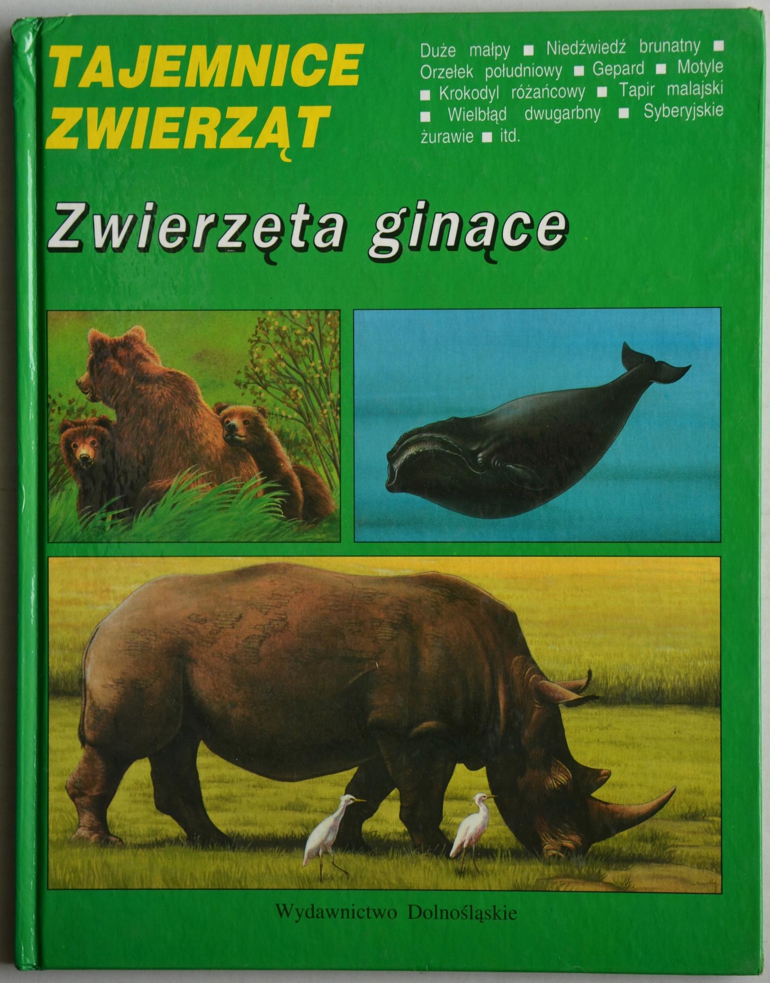 ff45d2f7a9c1e6 Tajemnice zwierząt - Zwierzęta ginące - 7508590733 - oficjalne ...