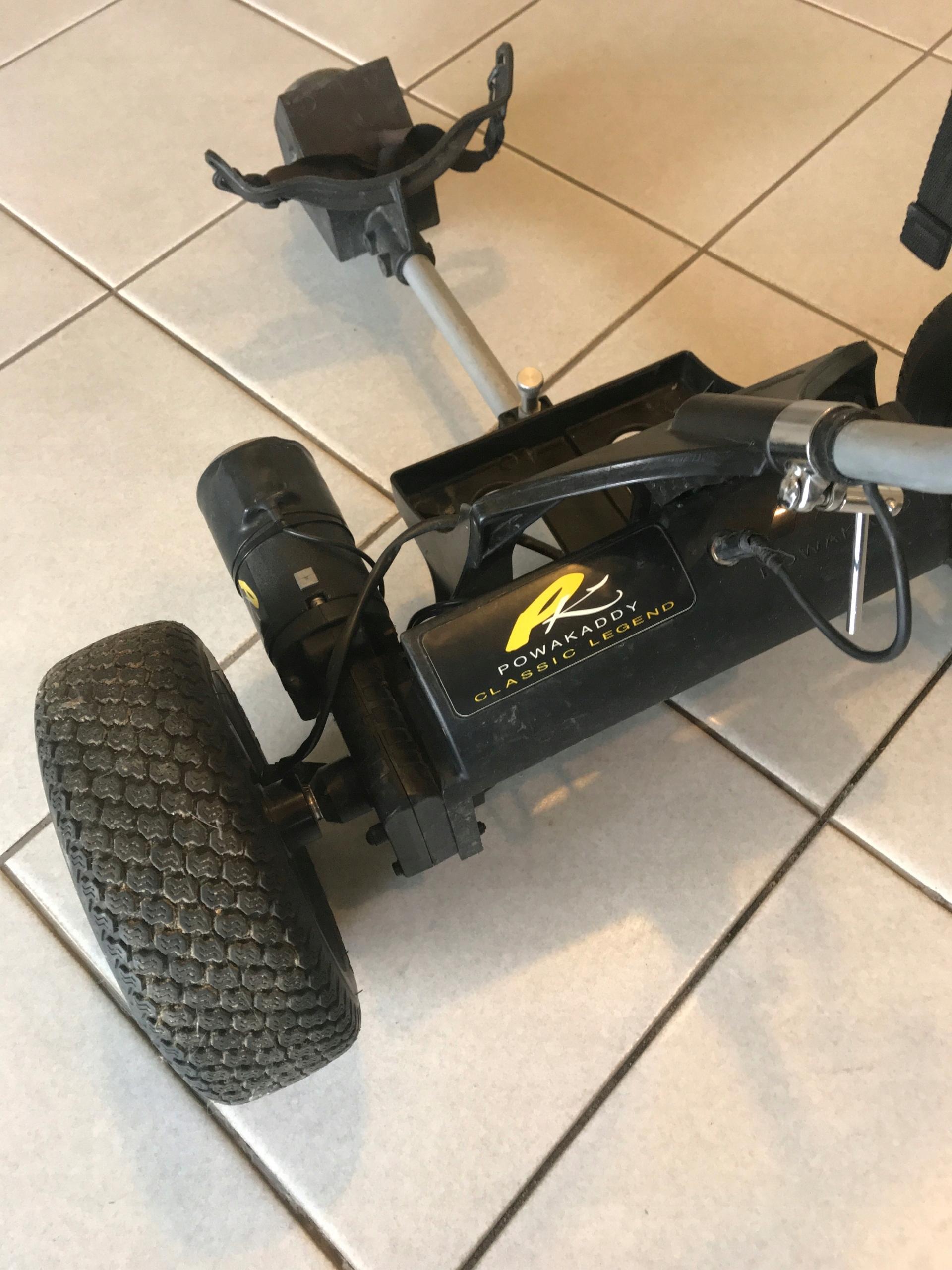 Wózek golfowy elektryczny Powakaddy Classic - 7522391505
