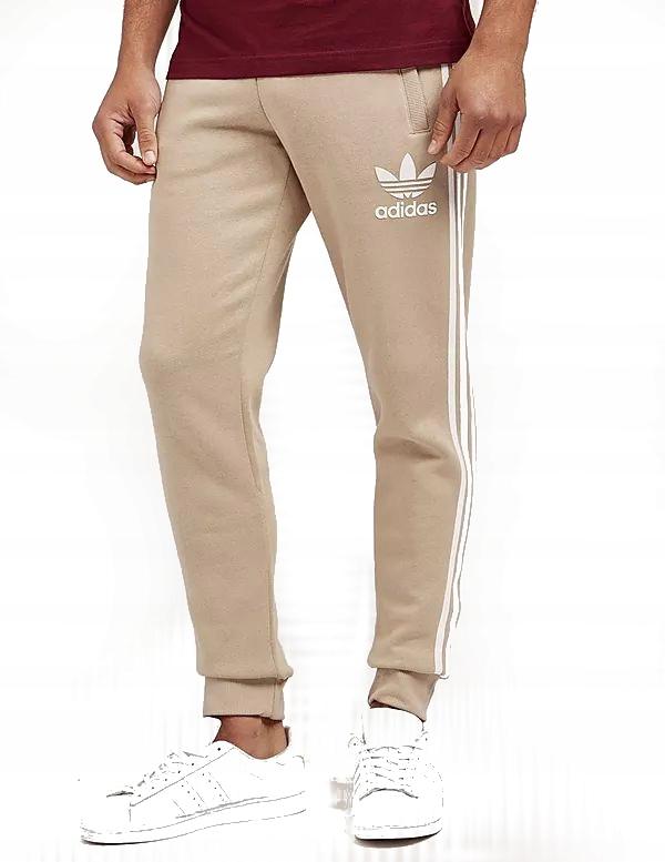 rozmiar 40 niska cena sprzedaży najbardziej popularny Adidas Trefoil Spodnie Dresowe Męskie paski Jogger ...