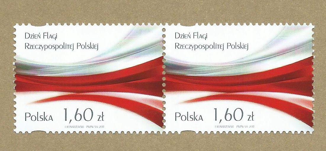 Fi 4456 ** PARKA POZIOMA - Dzień Flagi