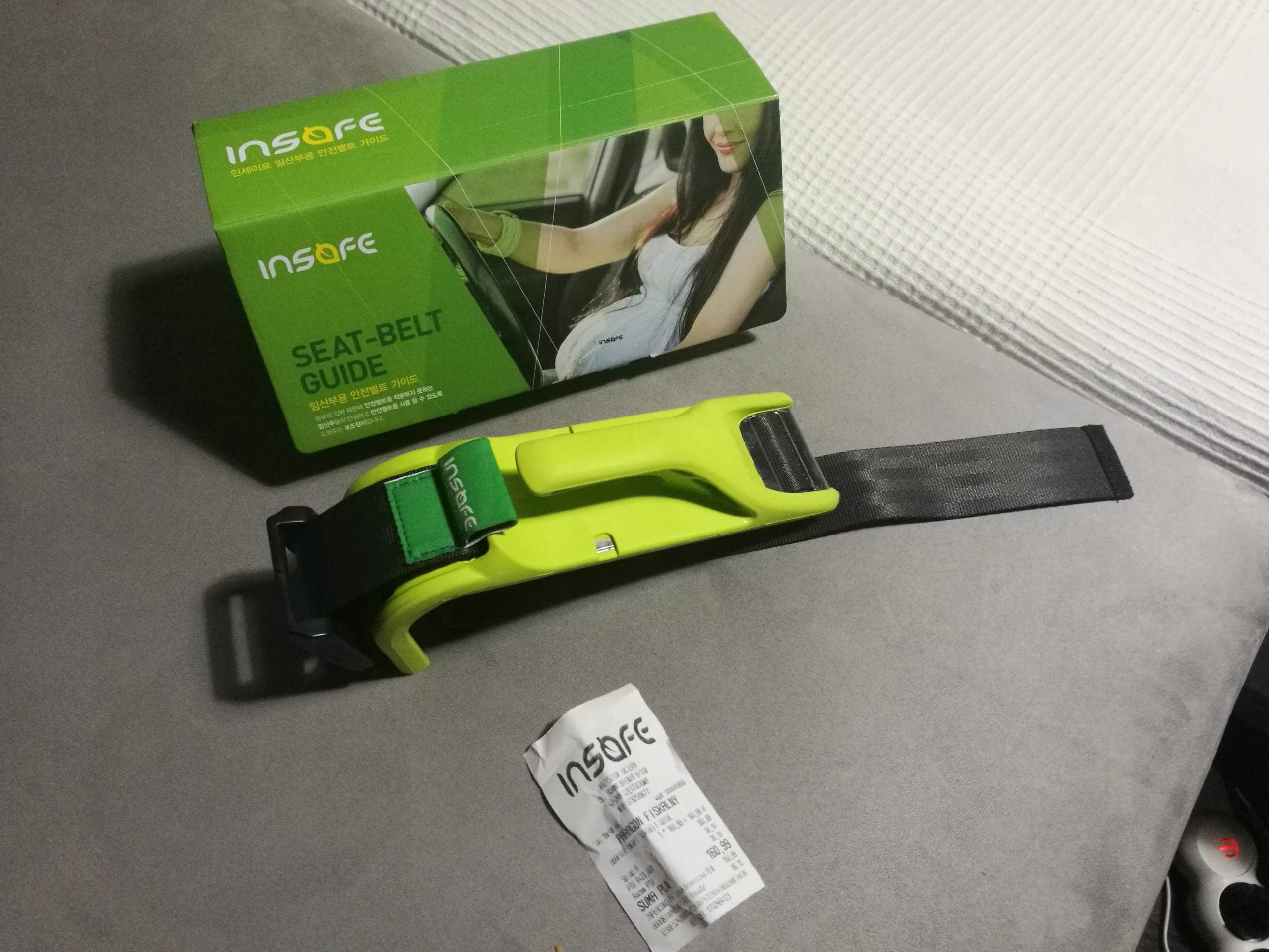 c67df08040ecfe INSAFE Adapter Pasów bezpieczeństwa Kobiet w Ciąży - 7664345323 ...