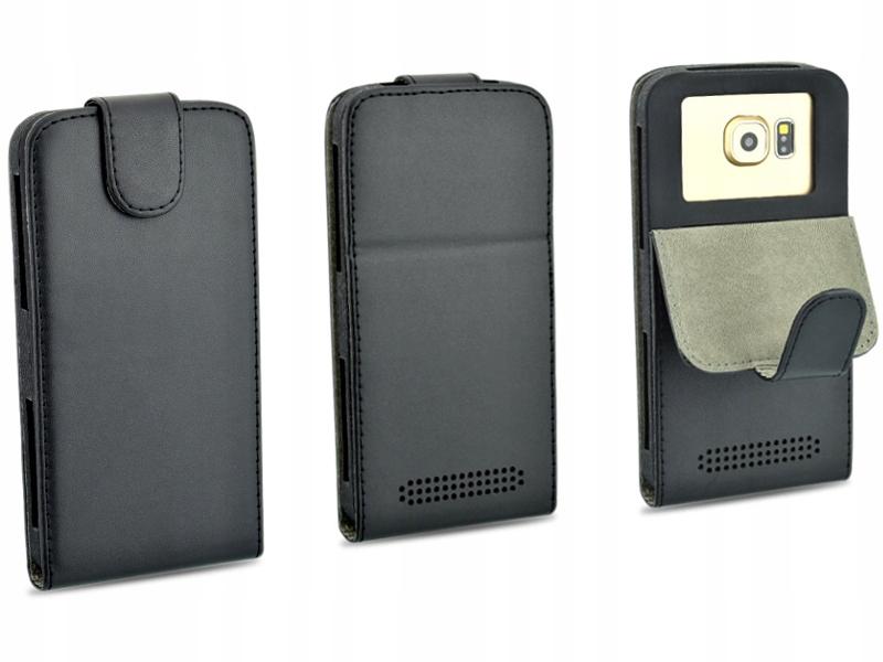 Etui czarne do telefonu Huawei G Play Mini