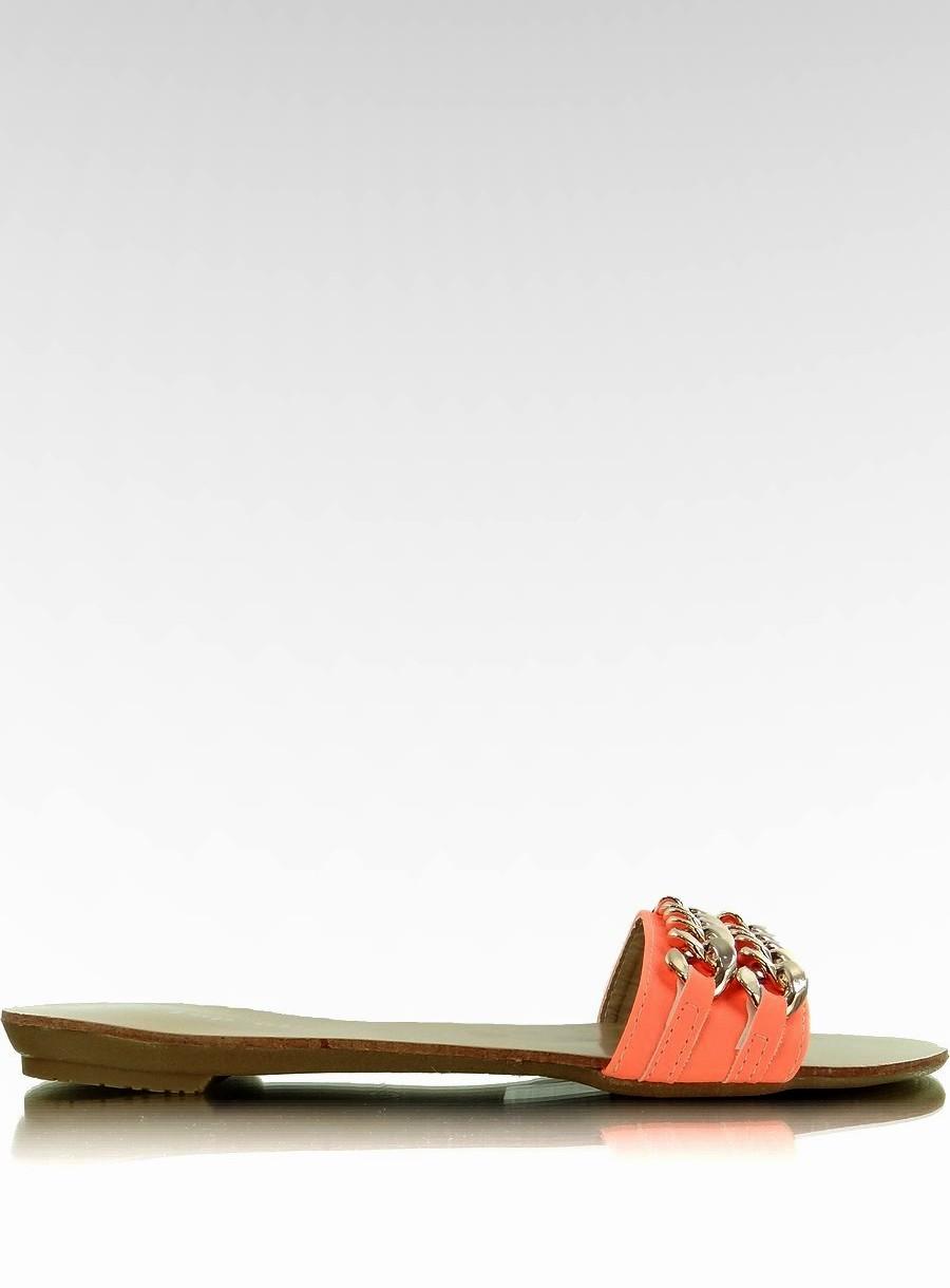 638b8250053c4 Klapki ze złotym 39 Okrągły super obuwie buty - 7245013715 ...
