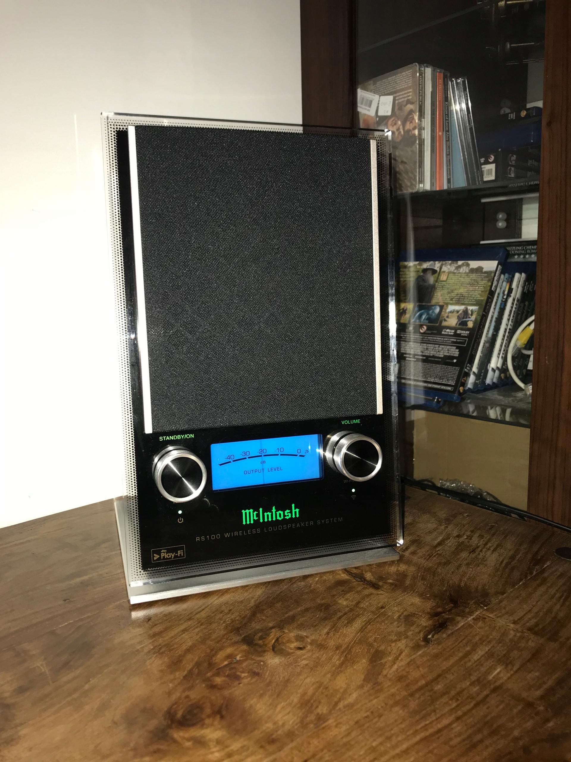 McIntosh RS-100 - Streamer DTS Play Fi - Hi-End -