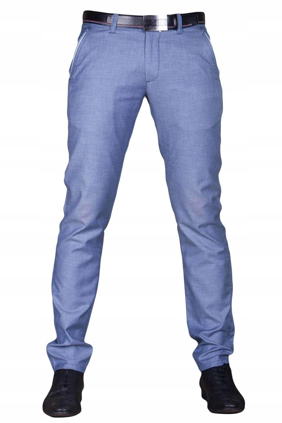 9abcc3e81da50 Spodnie indygo cienkie 1710 fashionmen2 rozm. 38 - 7314406001 ...
