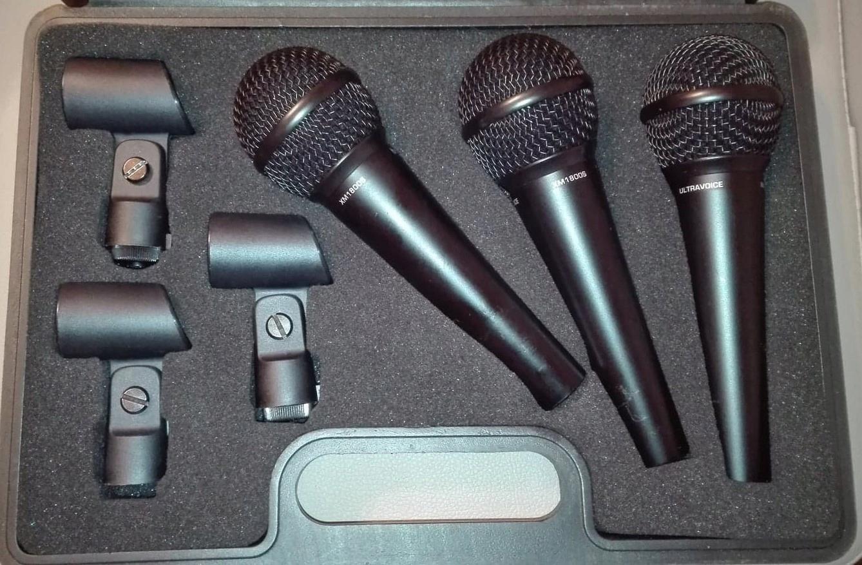 Mikrofony - BEHRINGER XM1800S 3szt!