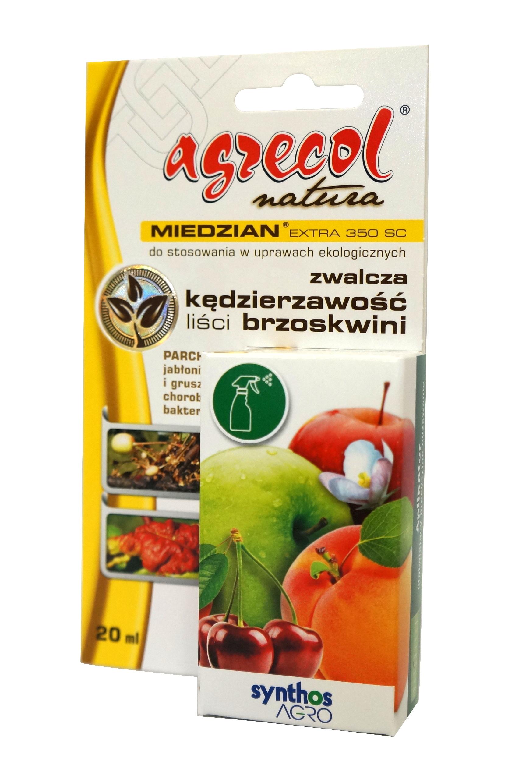 Miedzian Extra 350sc 20ml Choroby Grzybowe Agrecol 6737309268