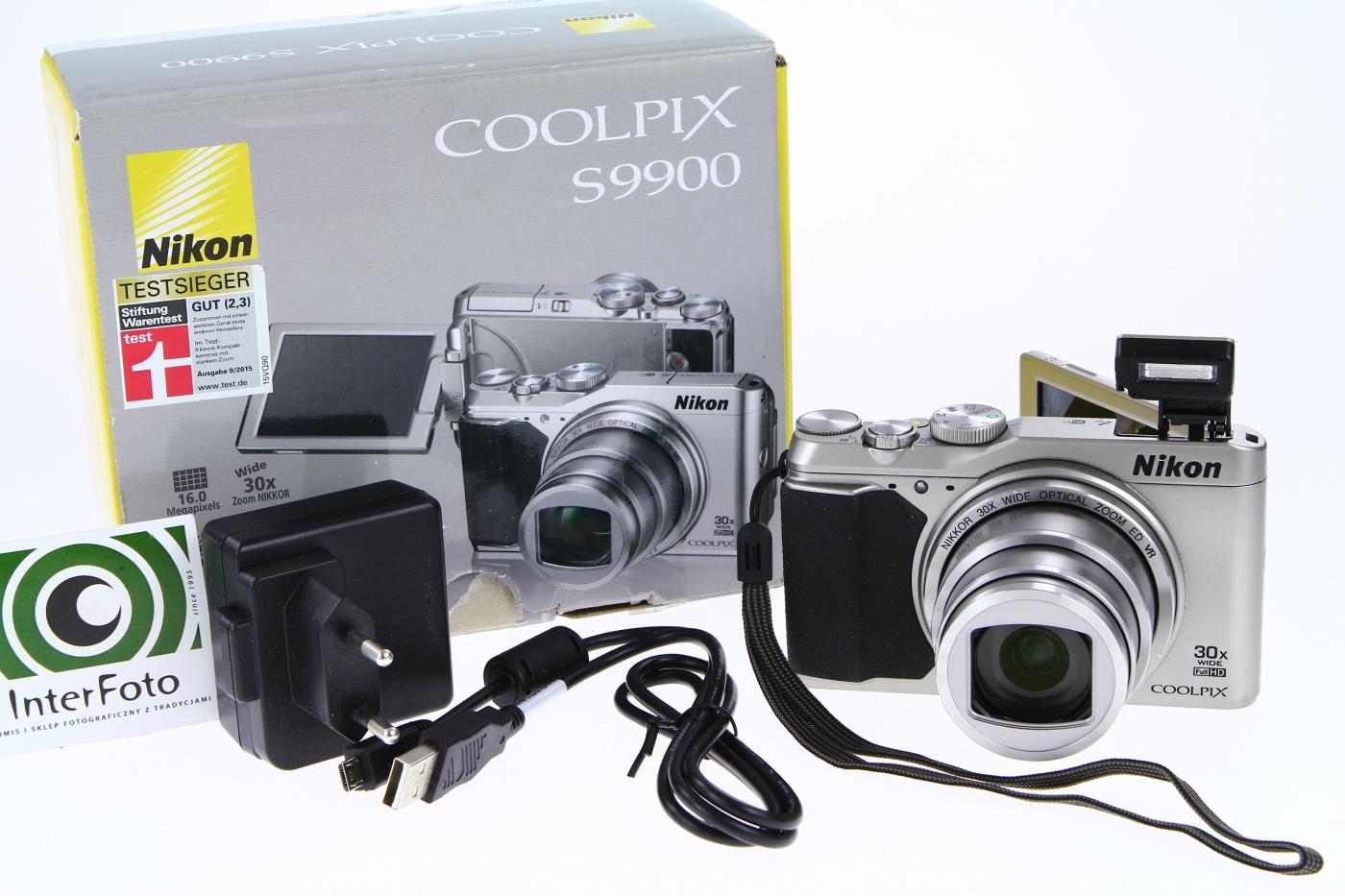InterFoto: Nikon Coolpix S9900 Wi-Fi GPS 30x Zoom