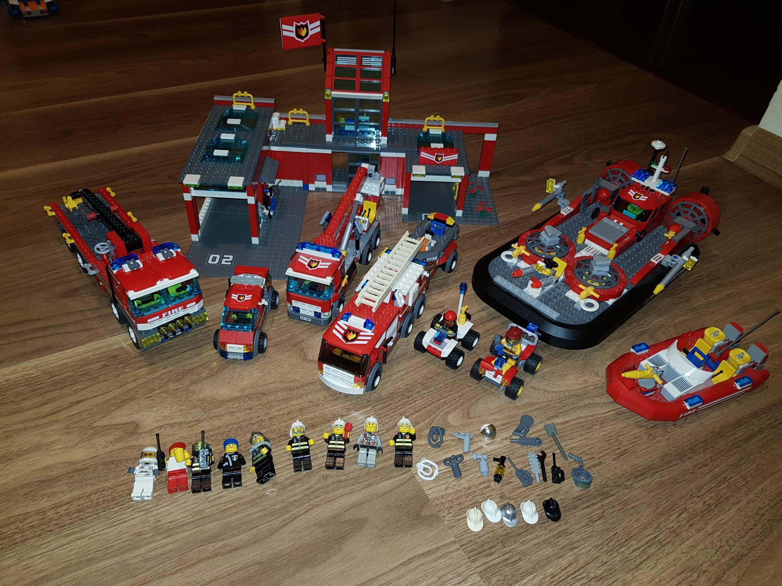 Lego City Straż Pożarna 79447945721372147239 7390835128