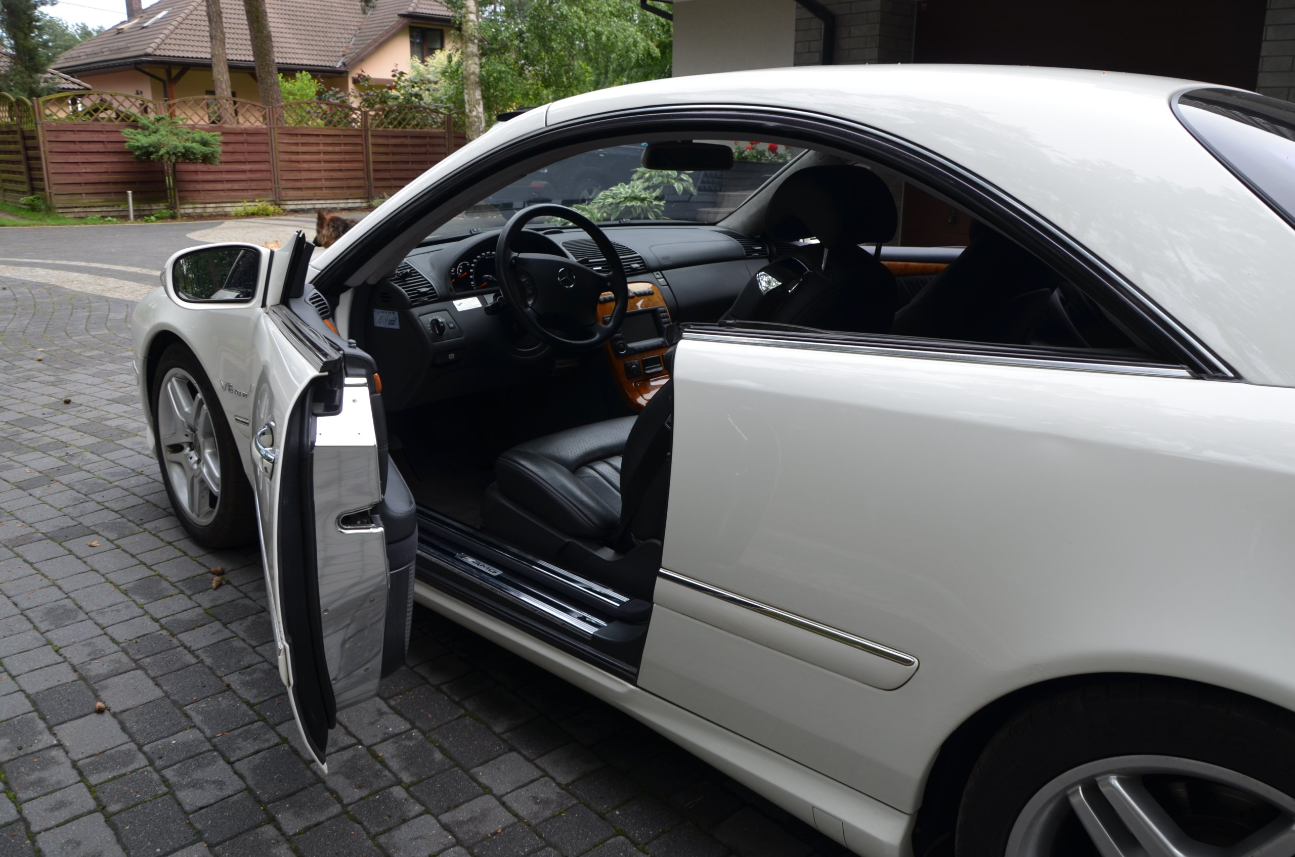 MERCEDES BENZ CL55 AMG COUPE Piękny 500KM OKAZJA