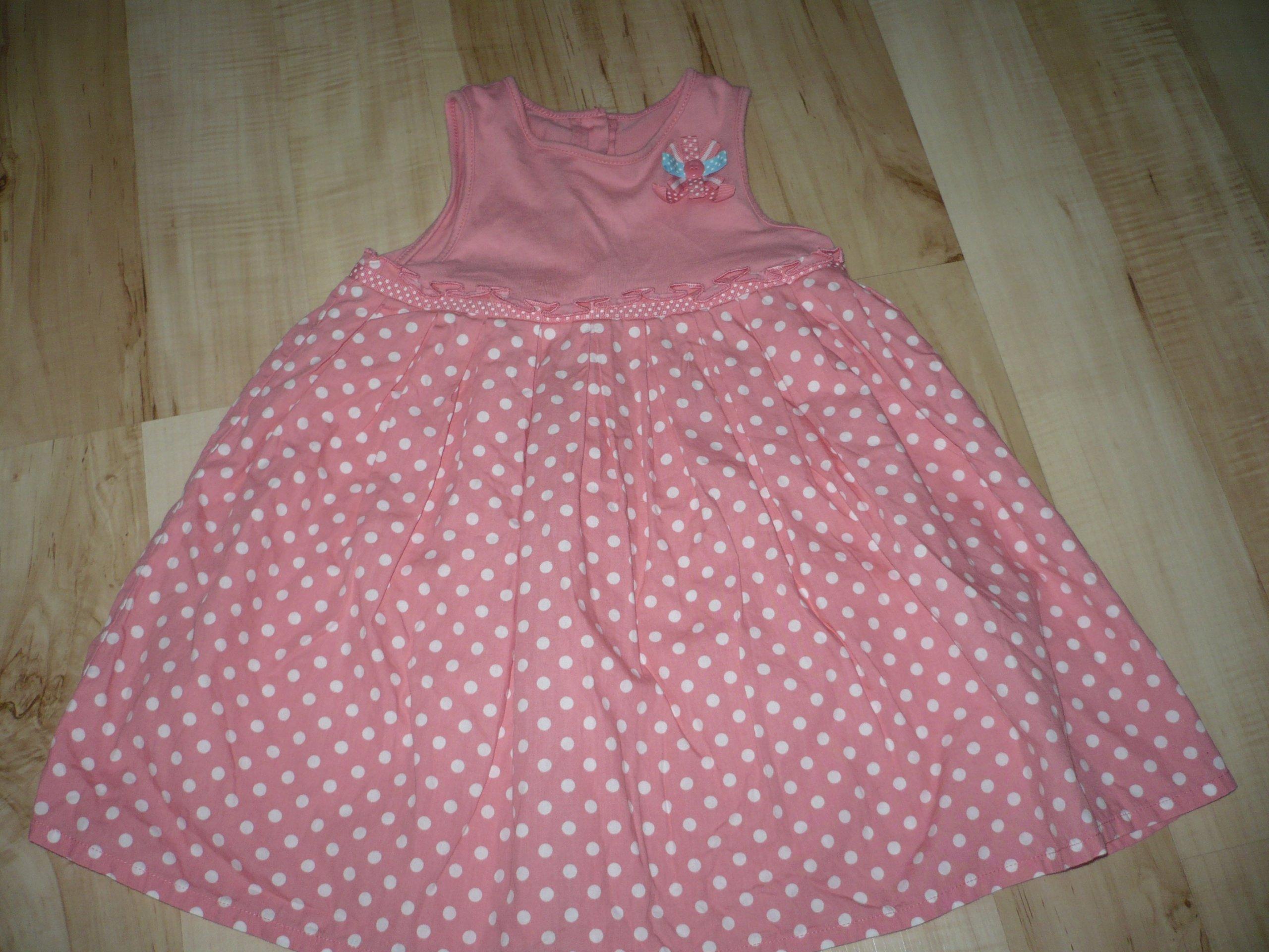 7ca3d506f6 śliczna sukienka 98 dziewczynka 2-3 latka - 7233157283 - oficjalne ...