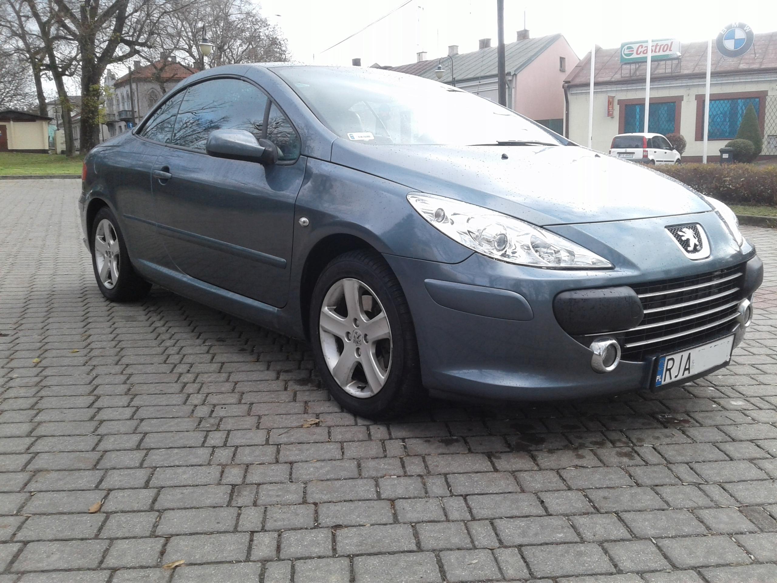Peugeot 307CC 2.0HDI 07r opony zimowe