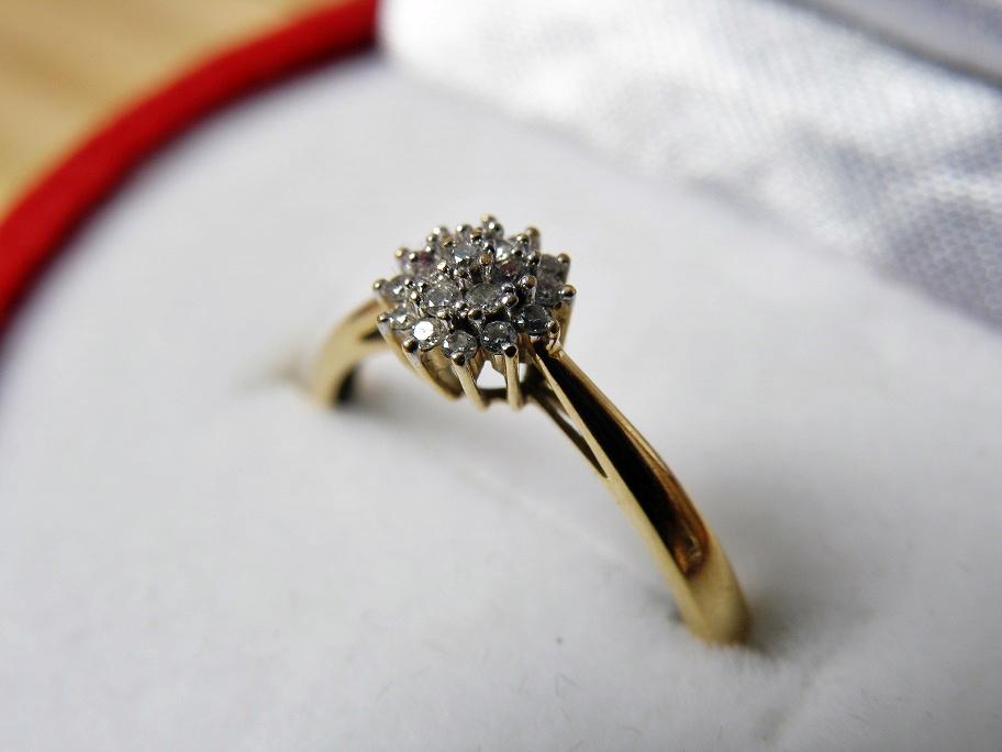 Apart Złoty Pierścionek Zaręczynowy Z Diamentem 7214878999