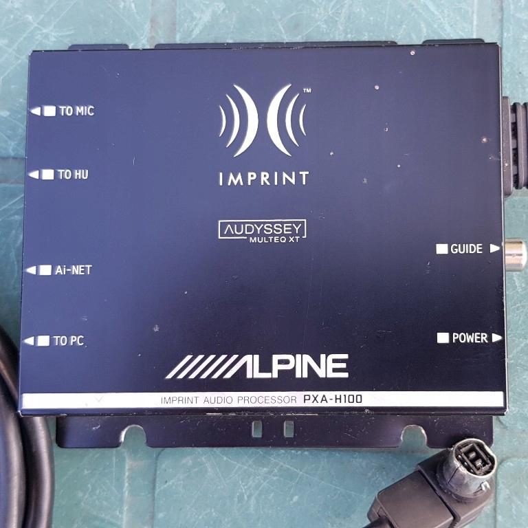 procesor dźwięku Alpine Imprint PXA-H100