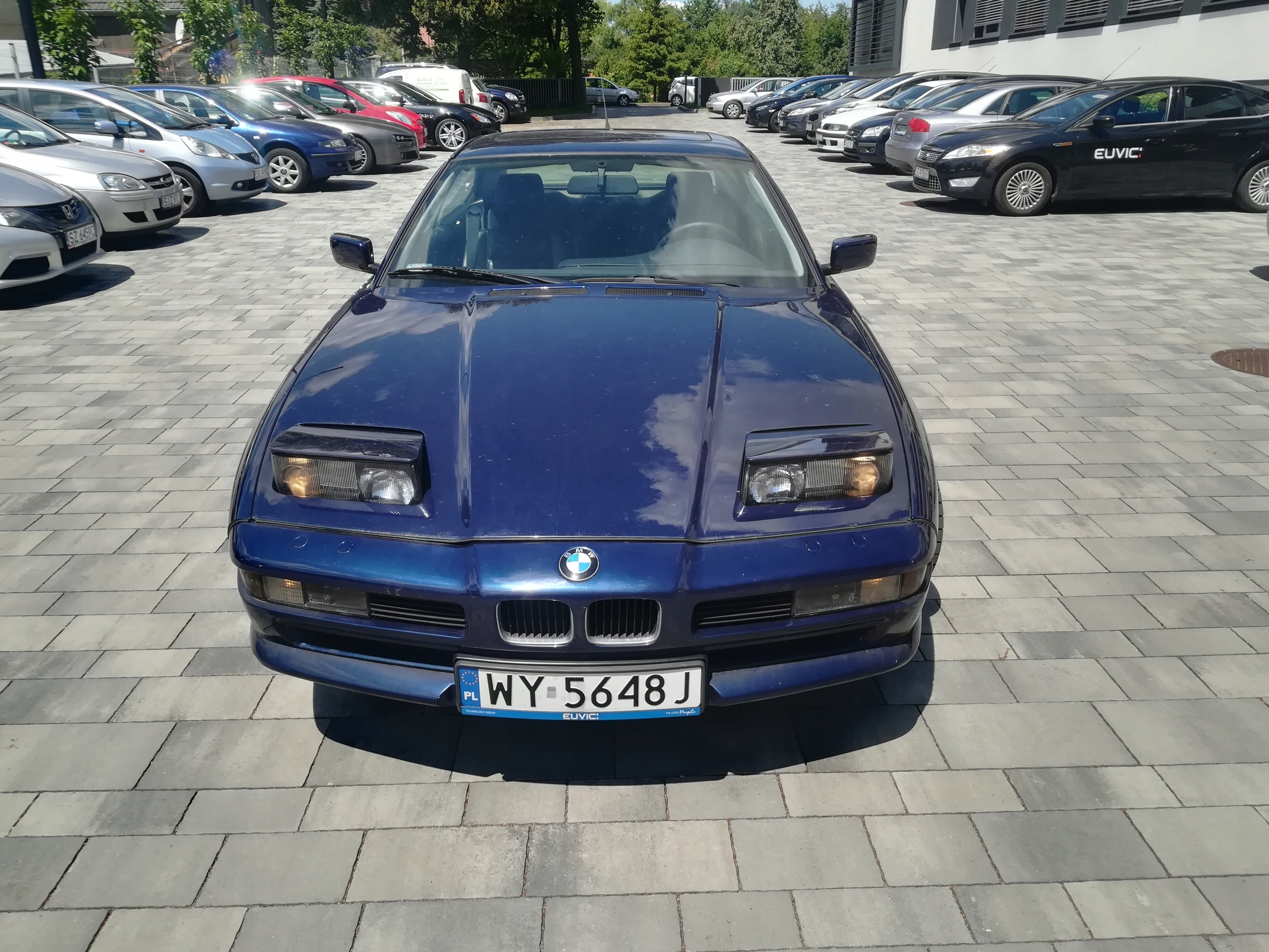 BMW 850 PL rocznik 1991 przebieg 138161