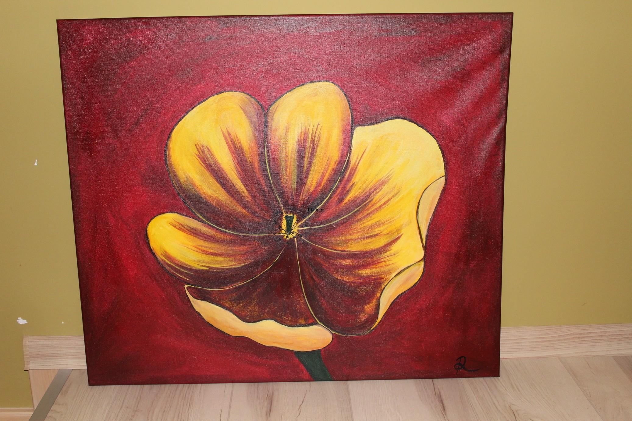 Obraz Akrylowy Kwiaty 7008932769 Oficjalne Archiwum Allegro
