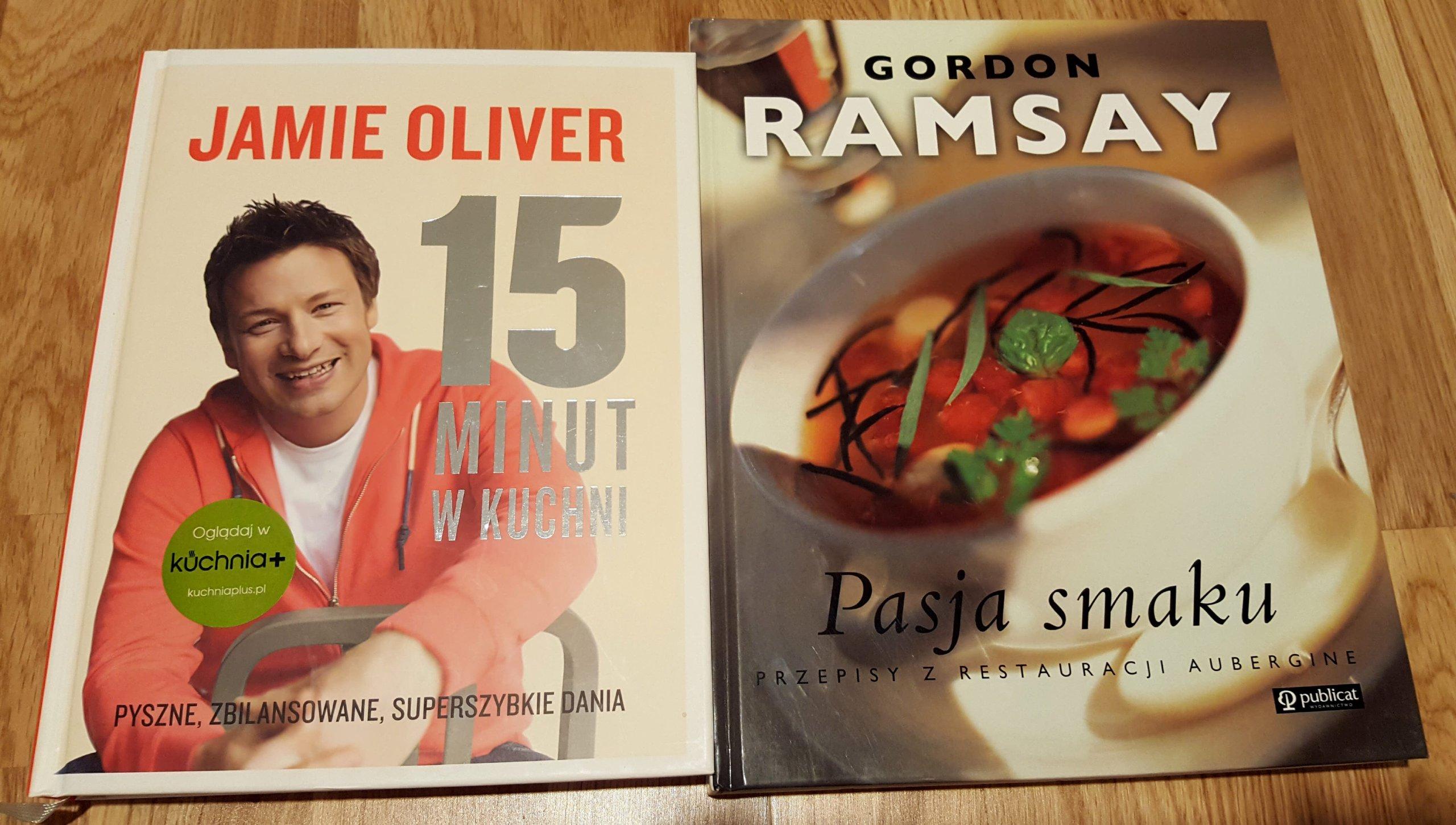 Kpl Jamie Oliver Gordon Ramsay Książki Kucharskie