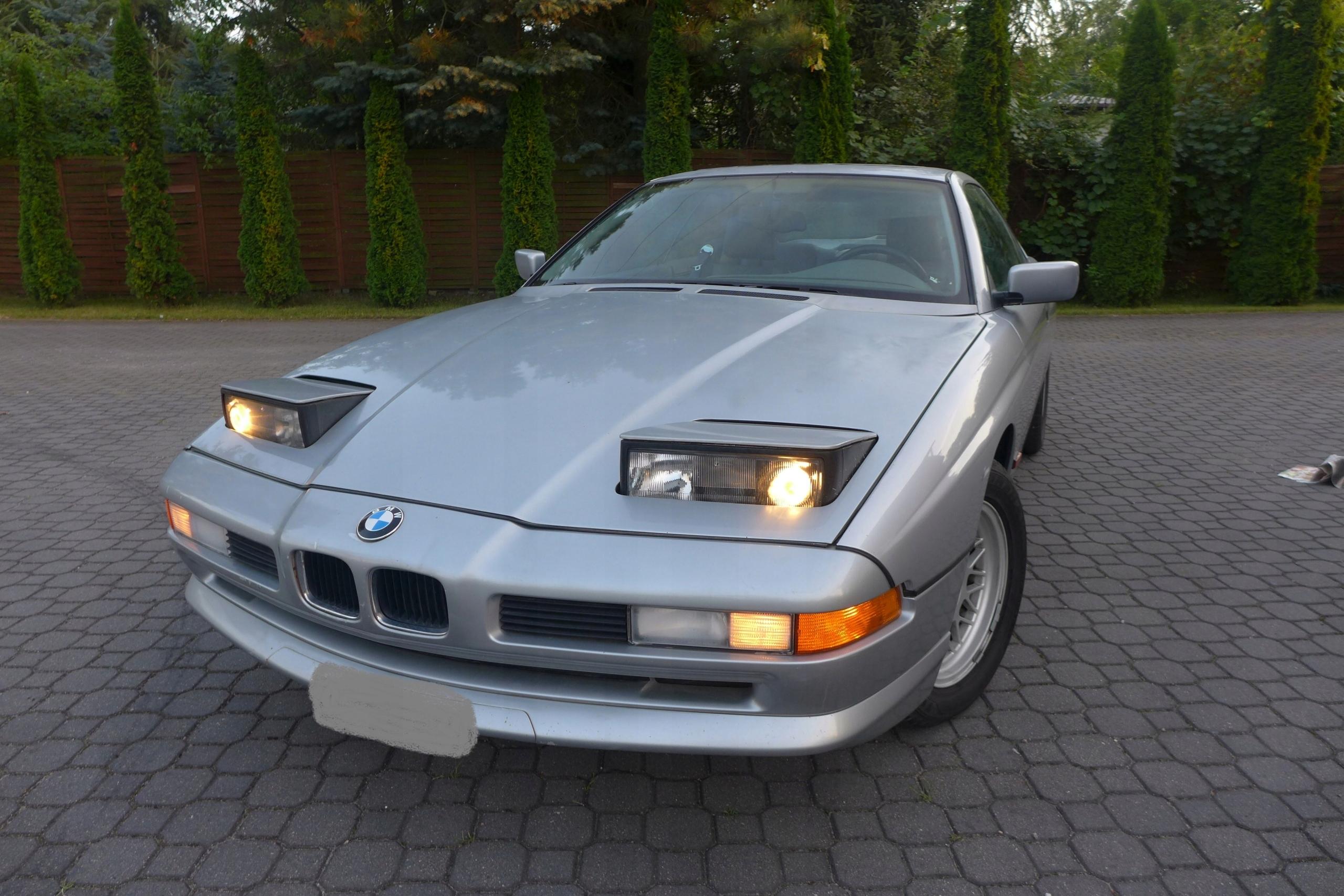 BMW 840 V8, Dokumentacja,,Stan DOBRY, POLECAM.