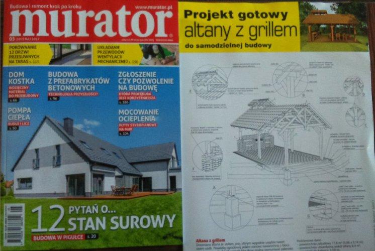 52017 Murator Projekt Gotowy Altany Z Grillem