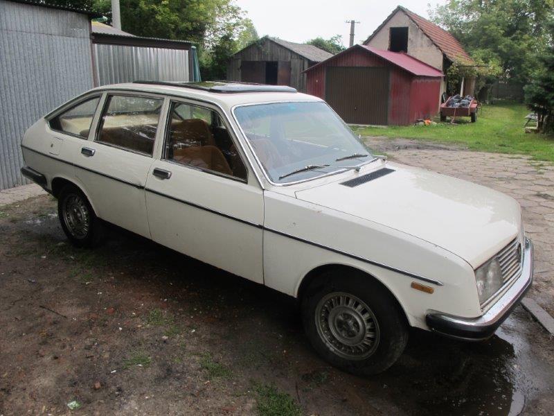 Lancia Beta Berline 1977r 1600 cm3 ORYGINAŁ