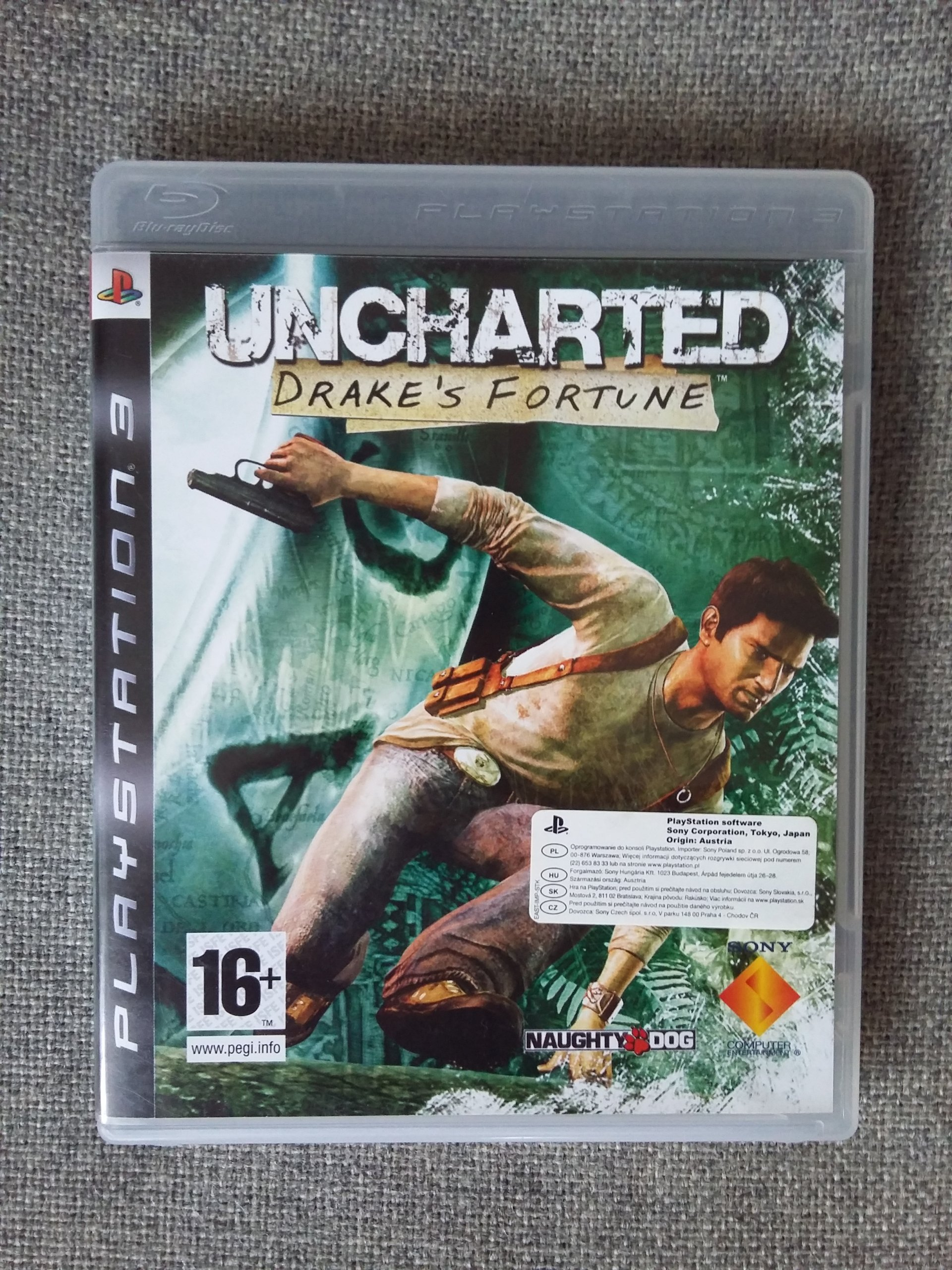 PS3 Uncharted: Fortuna Drakea/Drake's Fortune