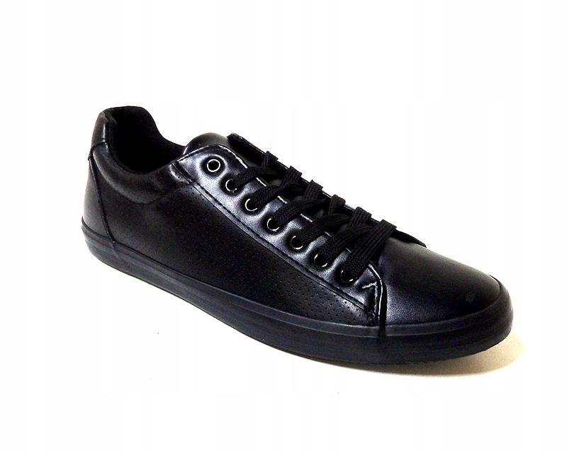 Capsule VI26805 Buty Sportowe Męskie Czarne 45