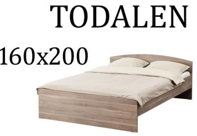 Ikea Todalen Rama łóżka 160x200cm Kraków 7349660312