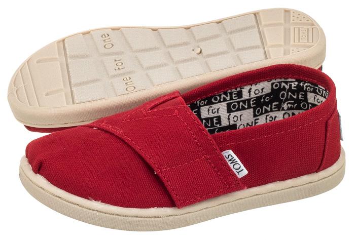 5a0b181d9b856 Buty Dla Dzieci Toms Classic Red Czerwone r. 27 - 6846019844 ...