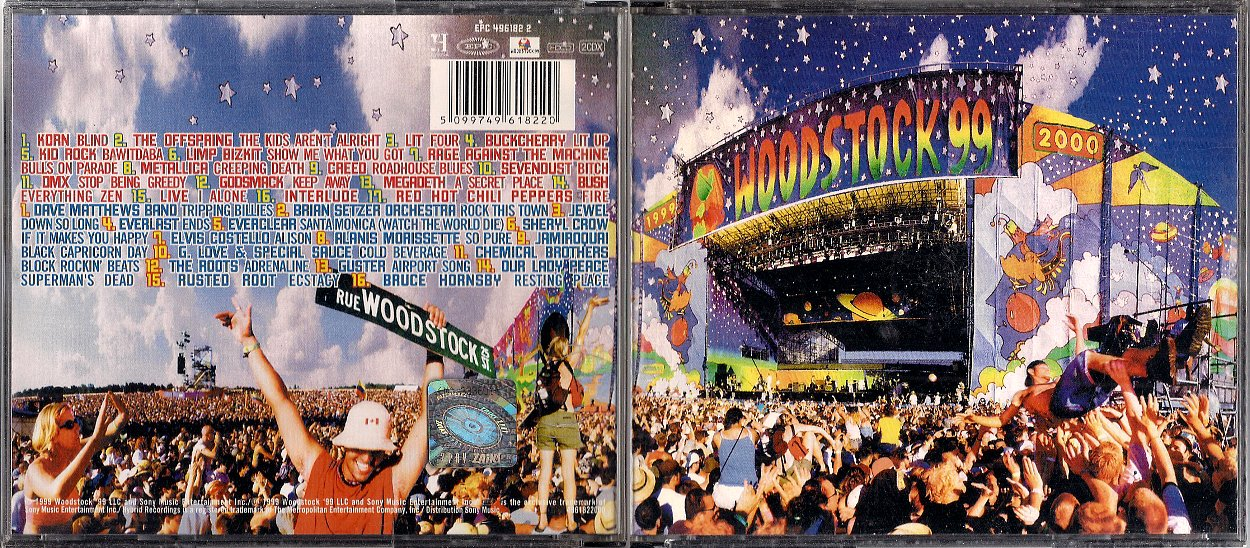 WOODSTOCK '99 V/A [2CD] - 7256464180 - oficjalne archiwum allegro