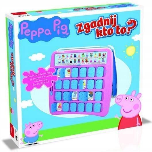 Zgadnij kto to? Peppa Pig