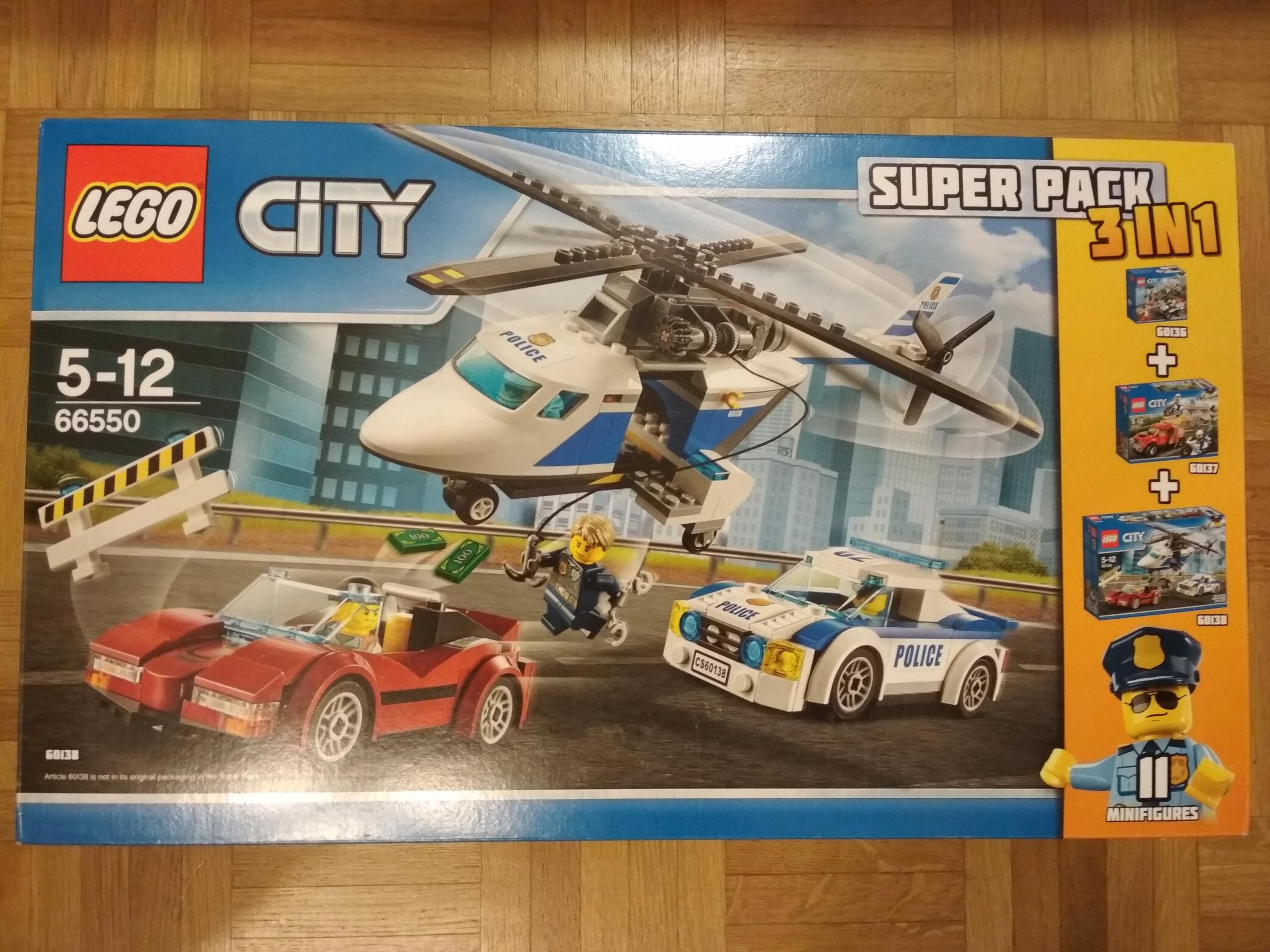 Lego City 66550 Policja 3w1 601366013760138 7730170411