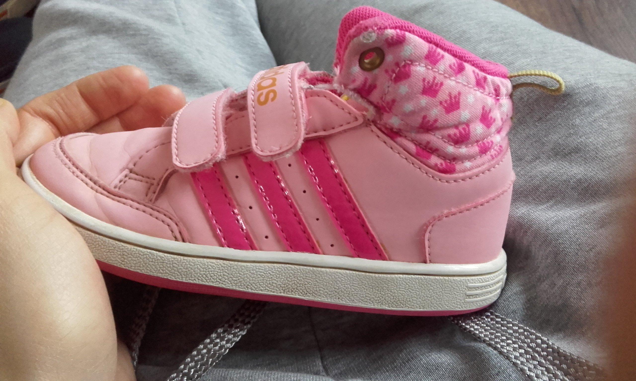 ADIDAS buty z księżniczką r.25 wkładka 15,5 cm 7320378214