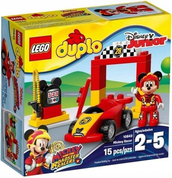 Klocki Lego Duplo Wyścigówka Mikiego Promocja 7675909187