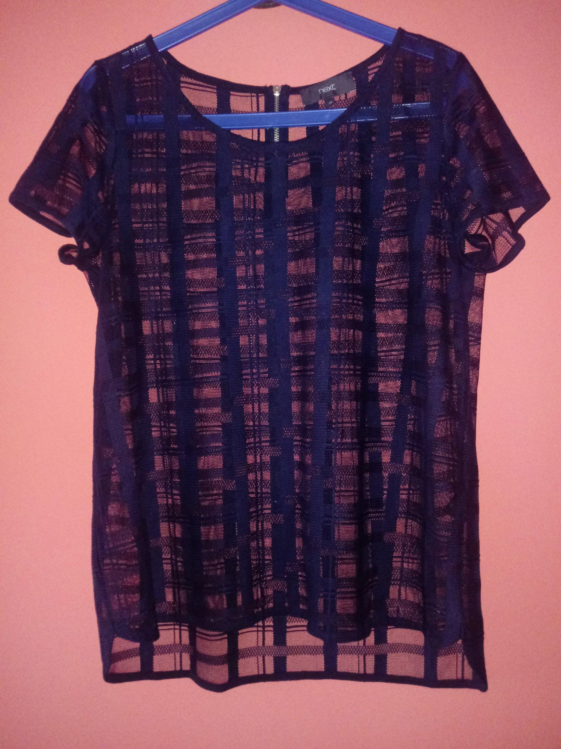2a6134c4228d20 prześwitująca koszulka siatka blog tumblr next - 7284261467 ...