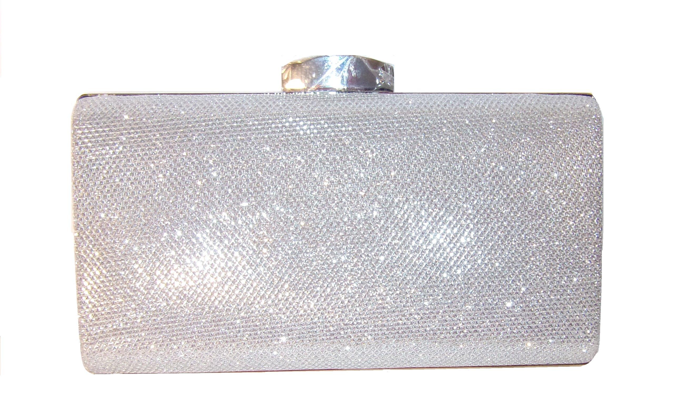 e9dbea1235056 srebrna torebka wieczorowa wizytowa - 7408718479 - oficjalne ...