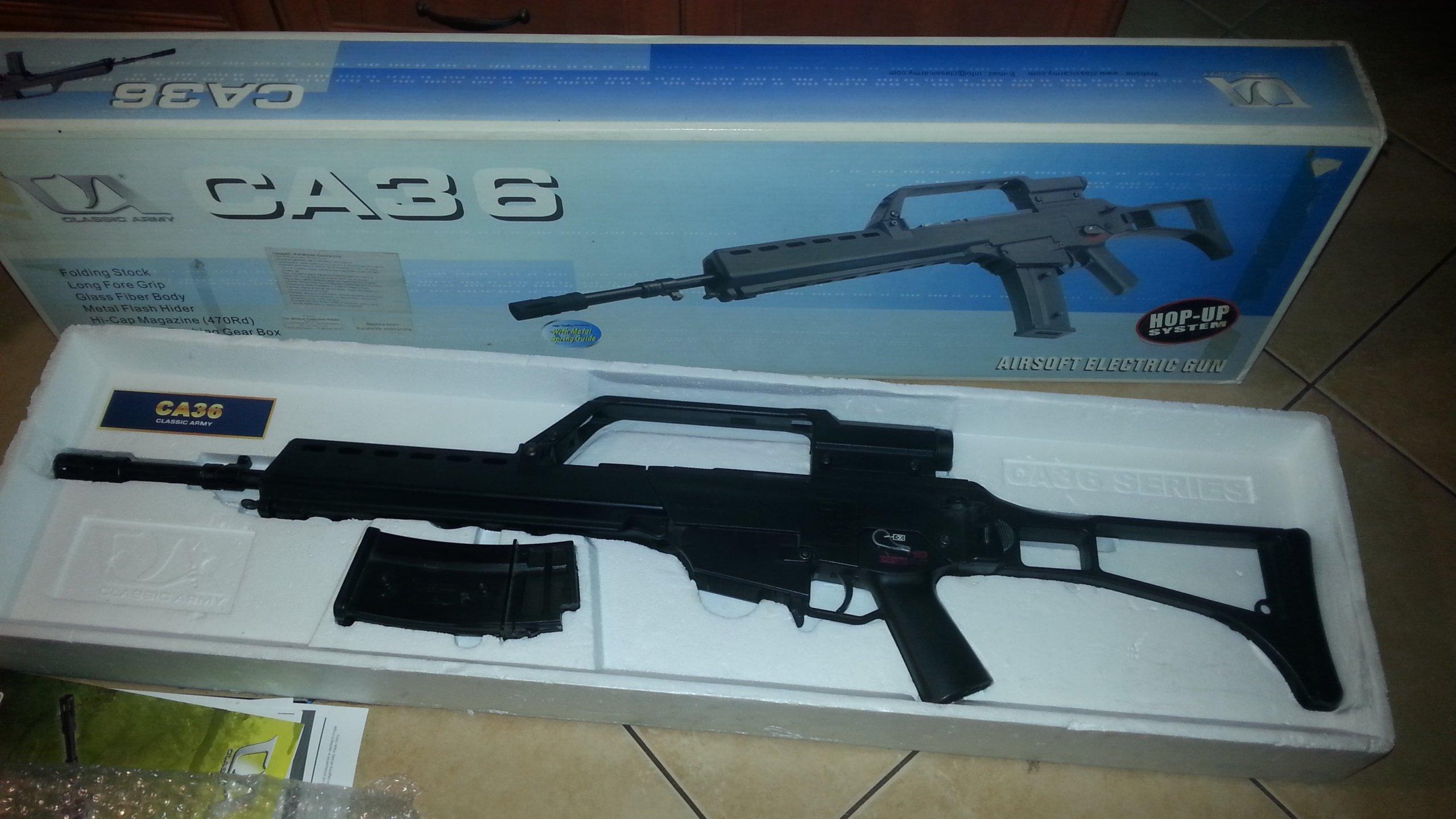 G36 classic army CA 340FPS (nie g36k g36c) - 7152130404