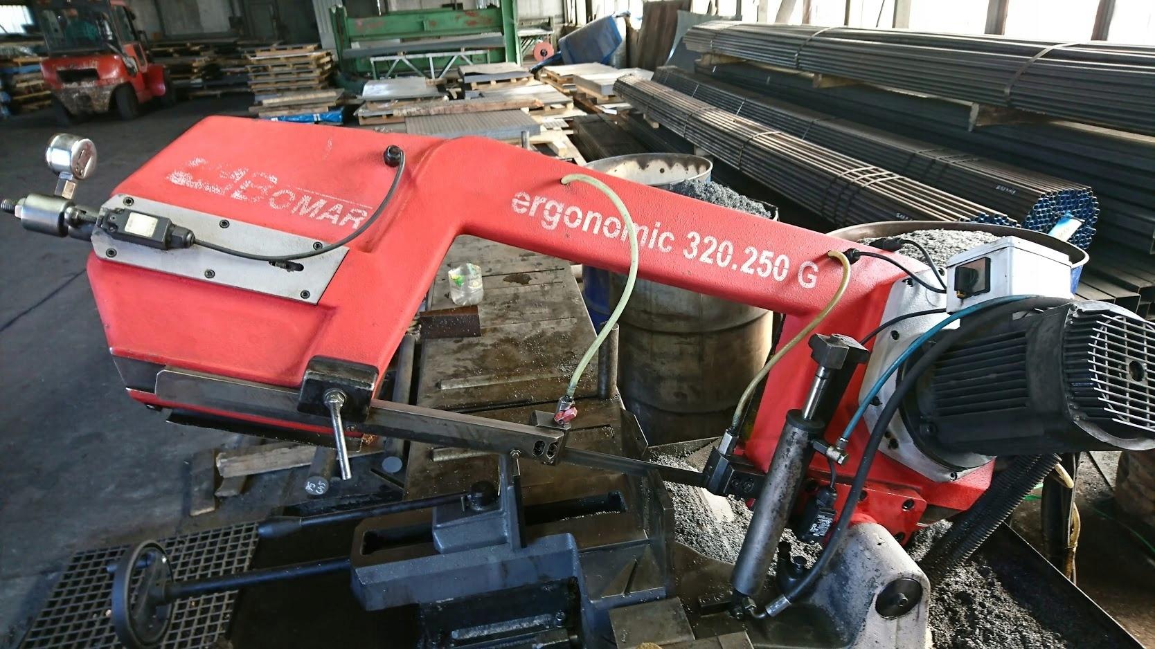 Przecinarka piła taśmowa BOMAR Ergonomic 320.250 G