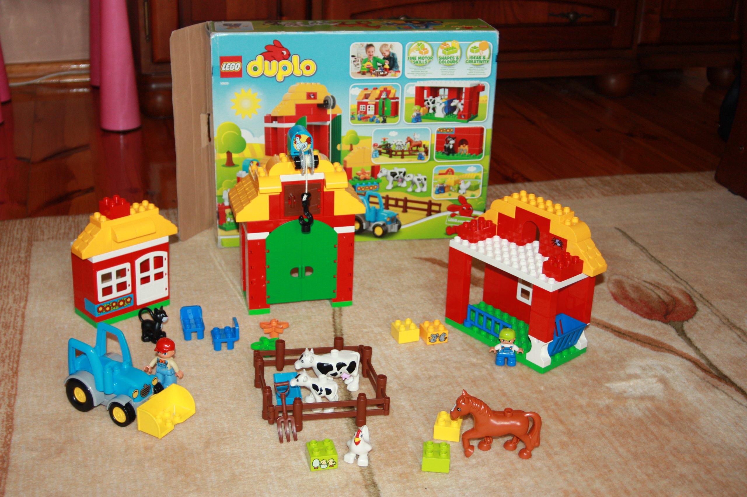 Klocki Lego Duplo Duża Farma Nr 10525 7219464169 Oficjalne