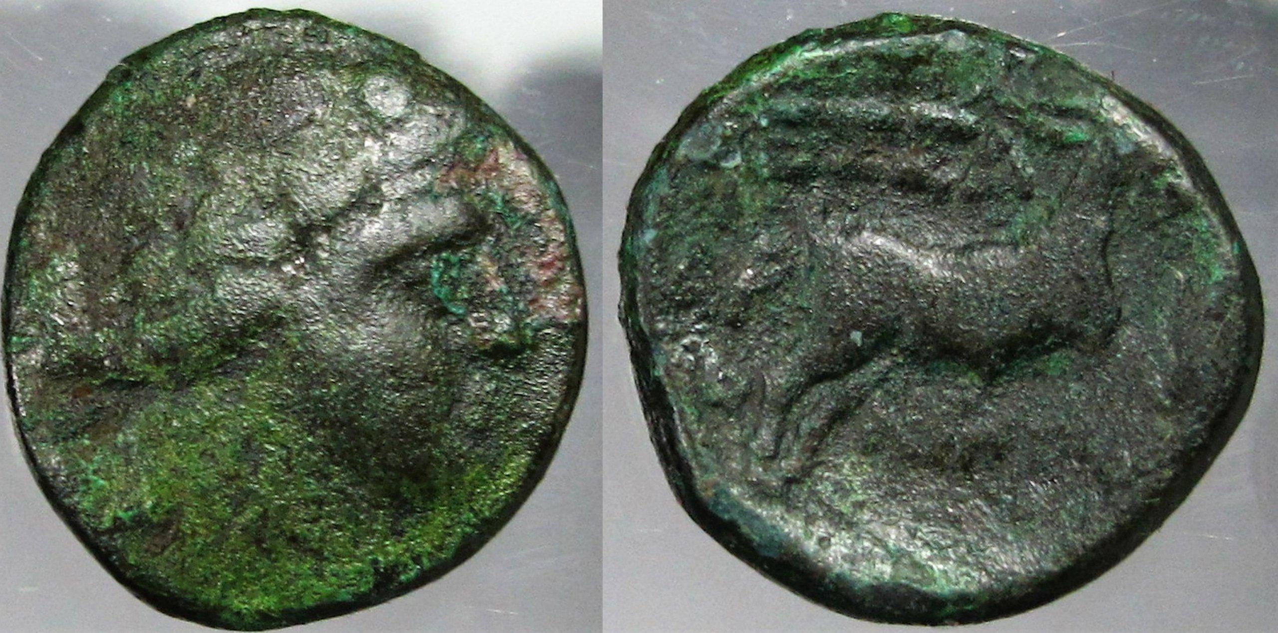 375. KONSTANTYN I  folis M. TESSALONIKA