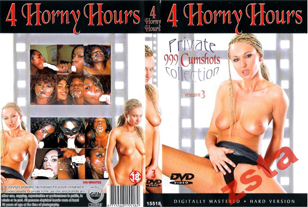 PRIVATE COLLECTION 3 ** BLACK CUMSHOTS ** DVD