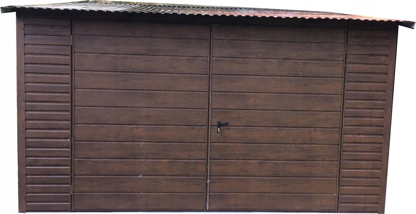 Garaż Blaszany Drewnopodobny Cała Polska 7485664818 Oficjalne