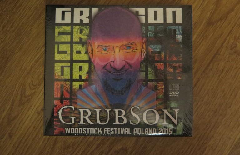 Grubson Przystanek Woodstock 2015 CD / DVD /P