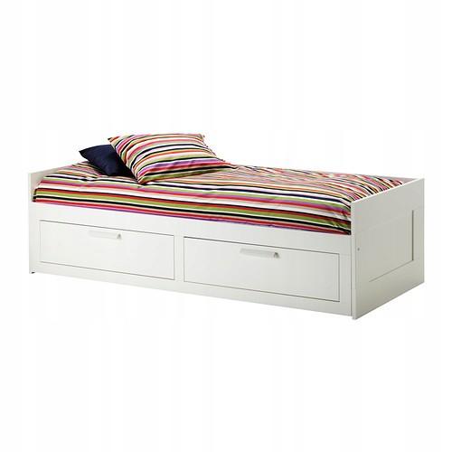 łóżko Młodzieżowe Brimnes Ikea Rozkładane