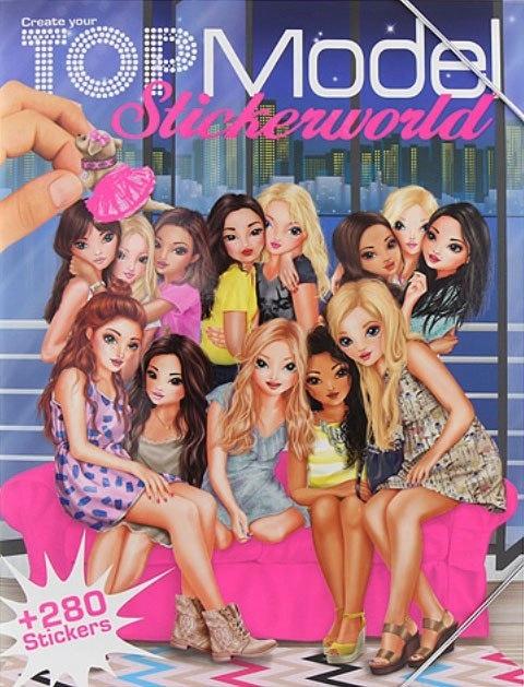 94c1124011 Top Model World Książka z naklejkami - 7491892442 - oficjalne ...