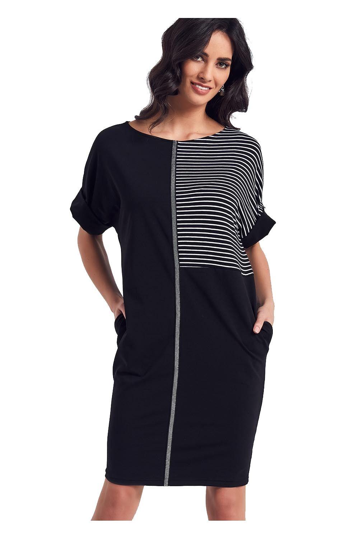 132e84a012 Ennywear 250028 38 modna sukienka krótki rękaw - 7301224554 ...