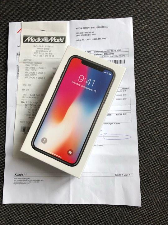 iphone x media markt 256
